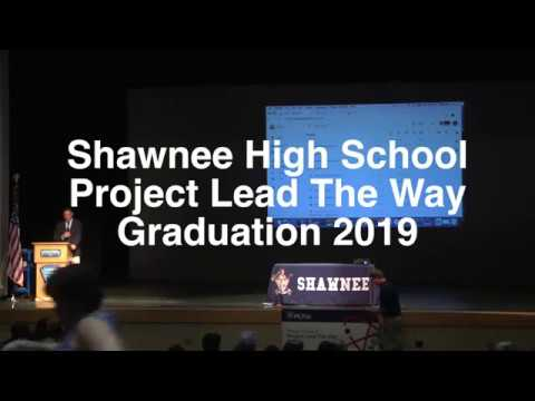 Shawnee HS Project Lead the Way Graduation 2019
