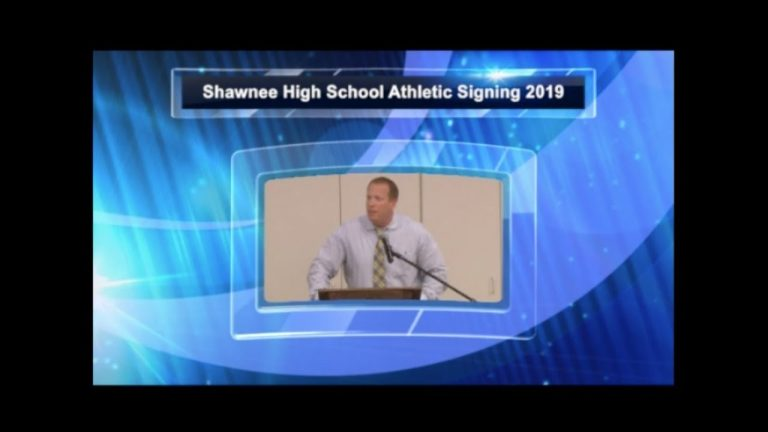 Shawnee HS National Letter of Intent Signing Ceremony 2019